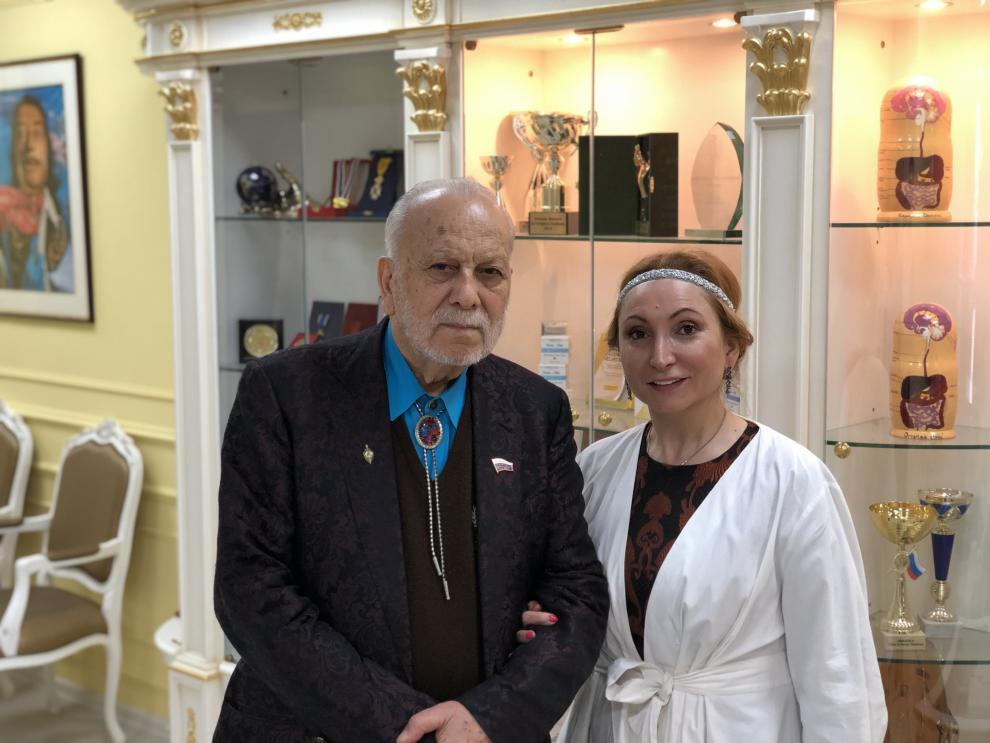 Бедро Киркоров и Марият Мухина